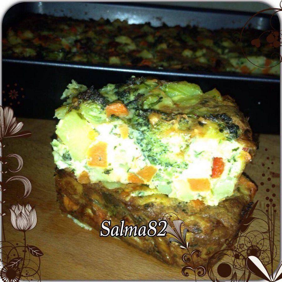 Tortilla au légumes au four طورطيا بالخضر فالفرن