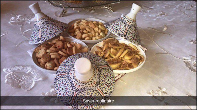 Mini Fekkas  au cacahuète فقاص صغير بالكاوكاو