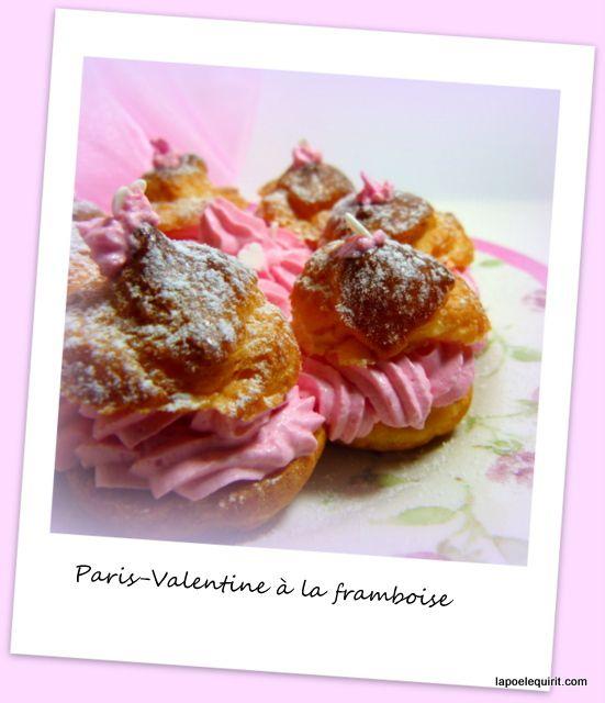 Paris-Valentine à la framboise
