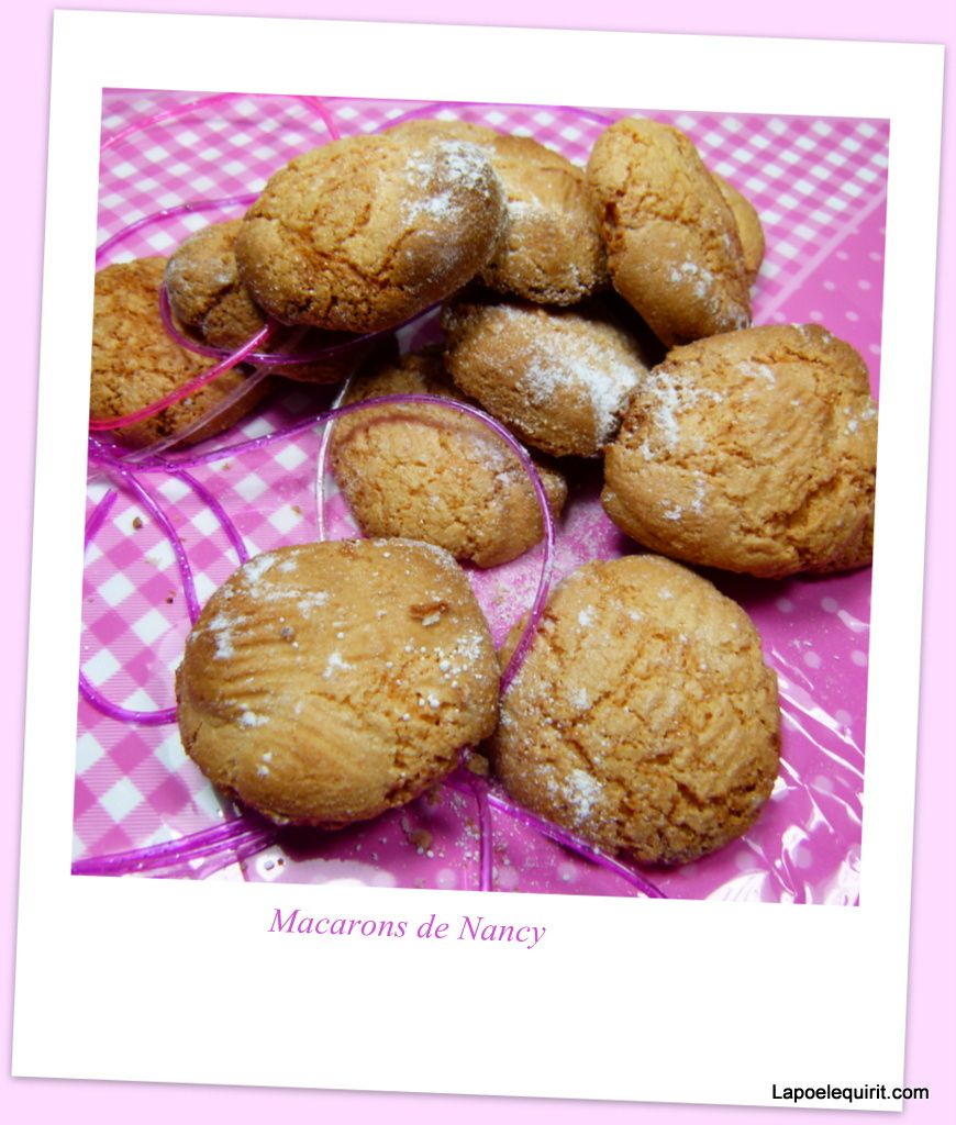 Mes macarons de Nancy