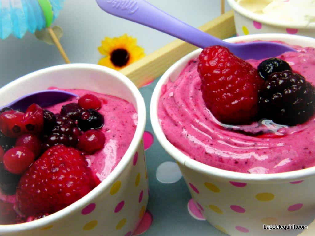congelation yaourt