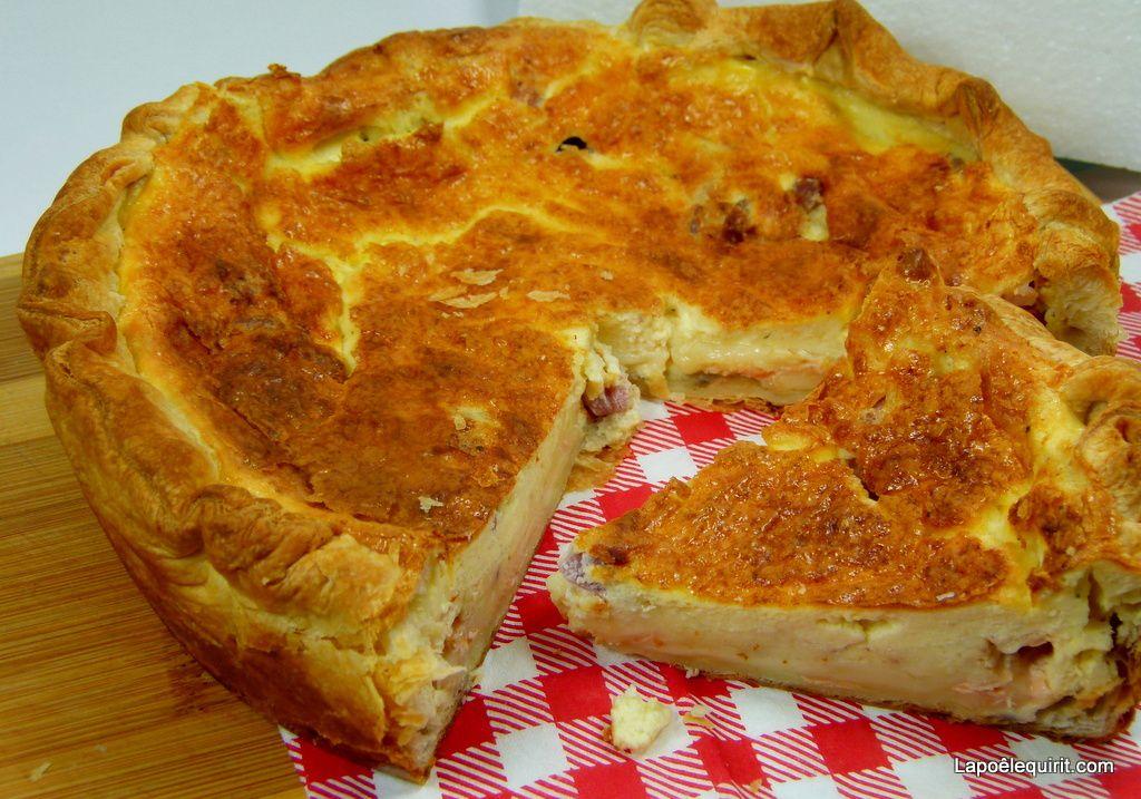 La tarte au Maroilles, vite faite, bien faite !