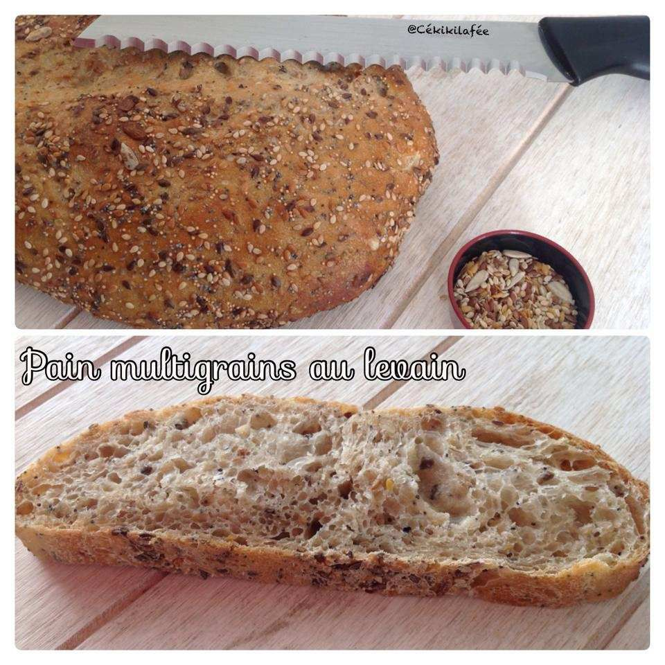 Pain multigrains au levain