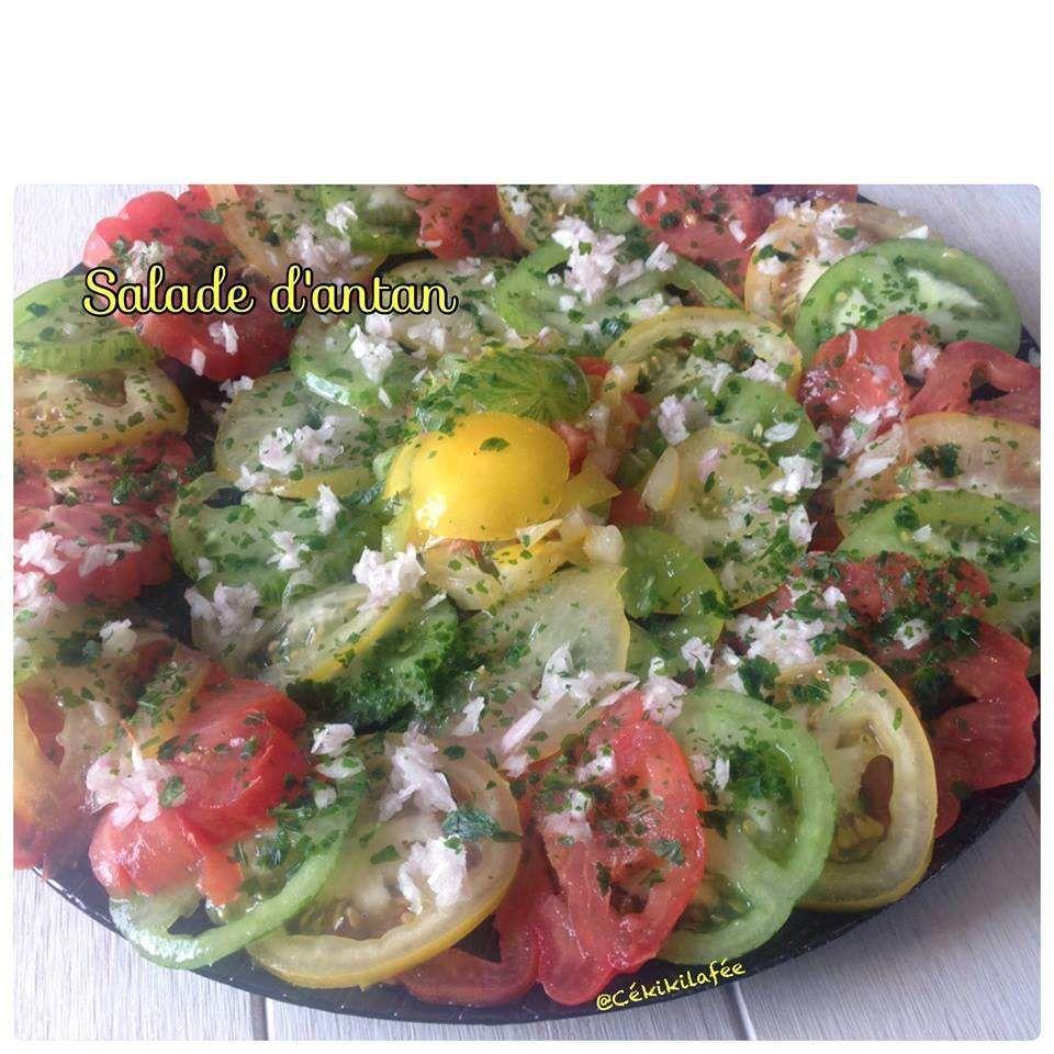 Salade d'antan