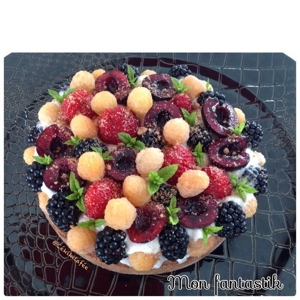 Mon fantastik aux fruits rouges
