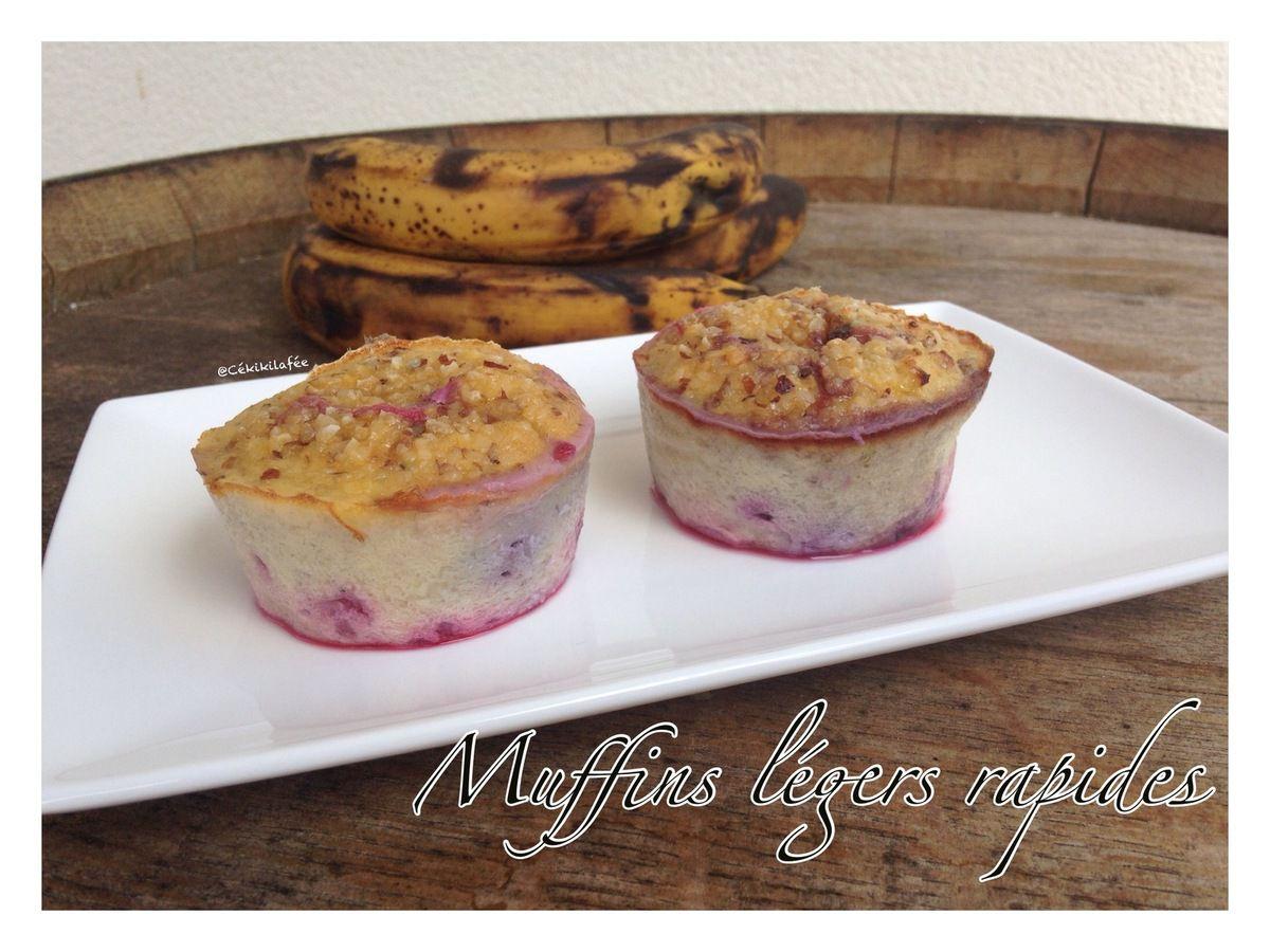 Muffins légers rapides