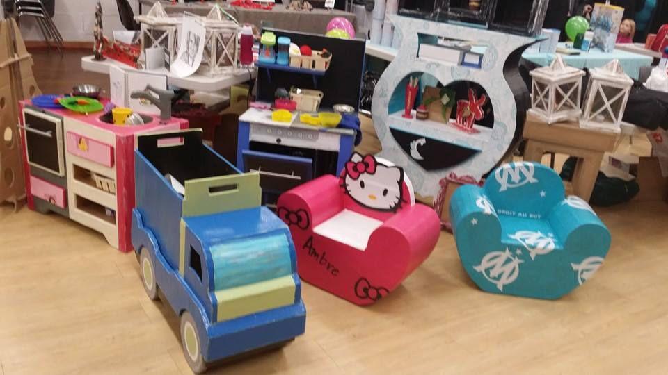 joindre l utile a l agréable, avec une caisse transportable, on  joue avec et on range dedans .