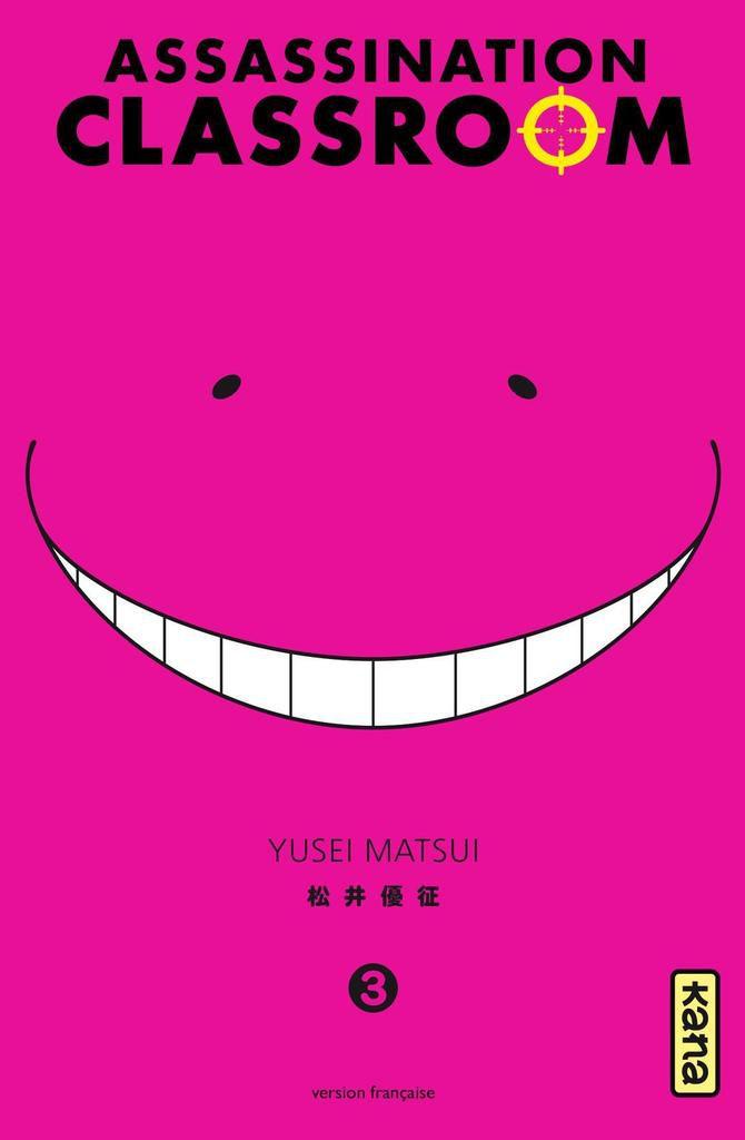 [Mangas du moment] Assassination Classroom + teaser du jeu 3DS