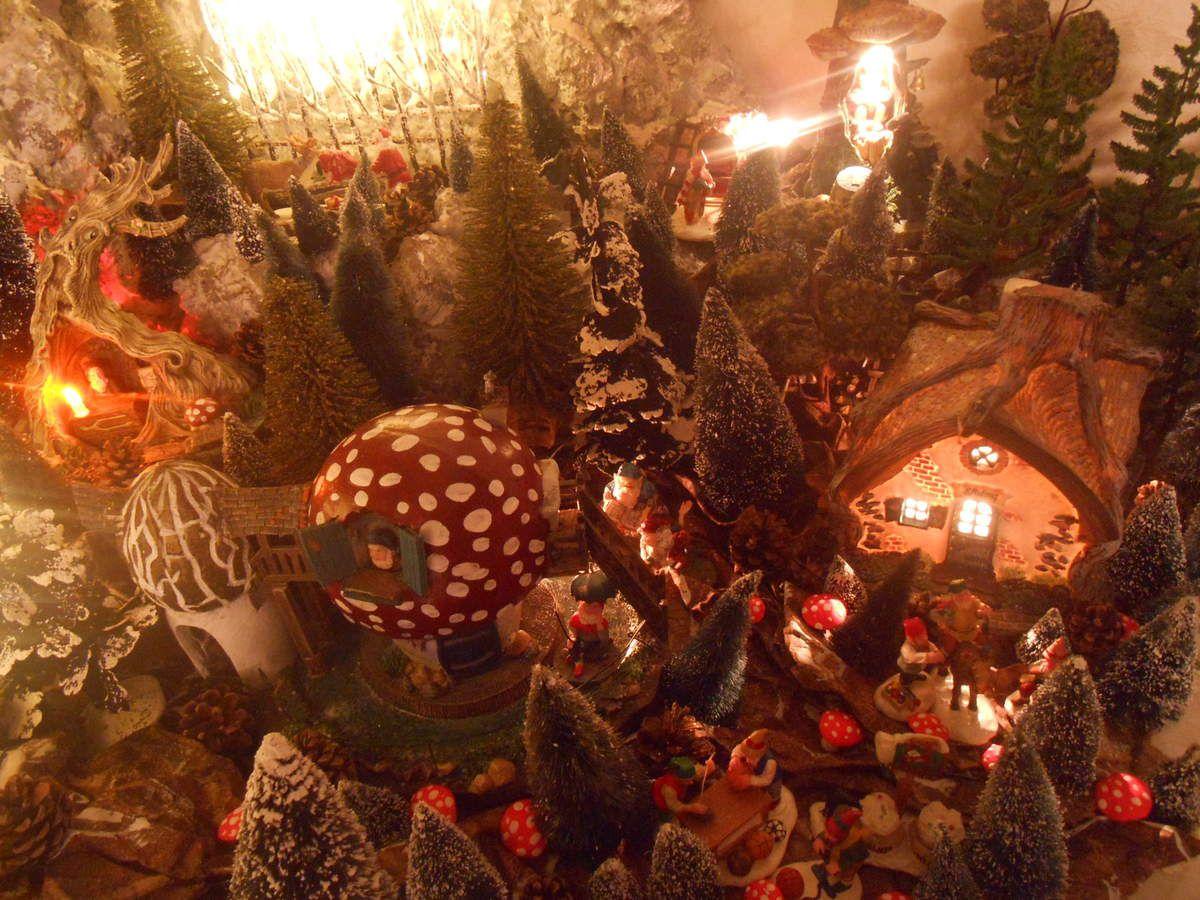 Noël 2015 ... un coin au pied du sapin