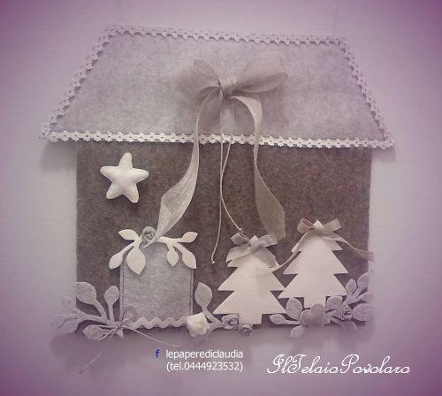 Natale è ...  '' casa dolce casa'' ... anche se in miniatura