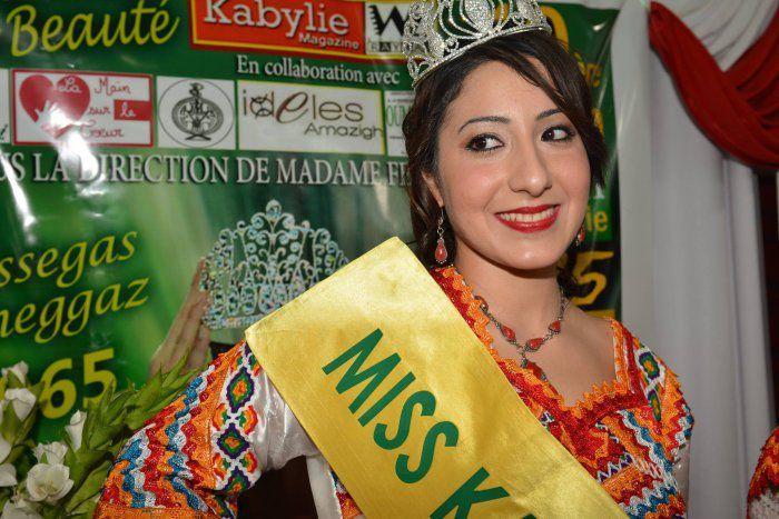 OUAZINE Dahbia Miss Kabylie 2015