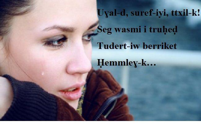 Tayri, l'amour exprimé en tamazight