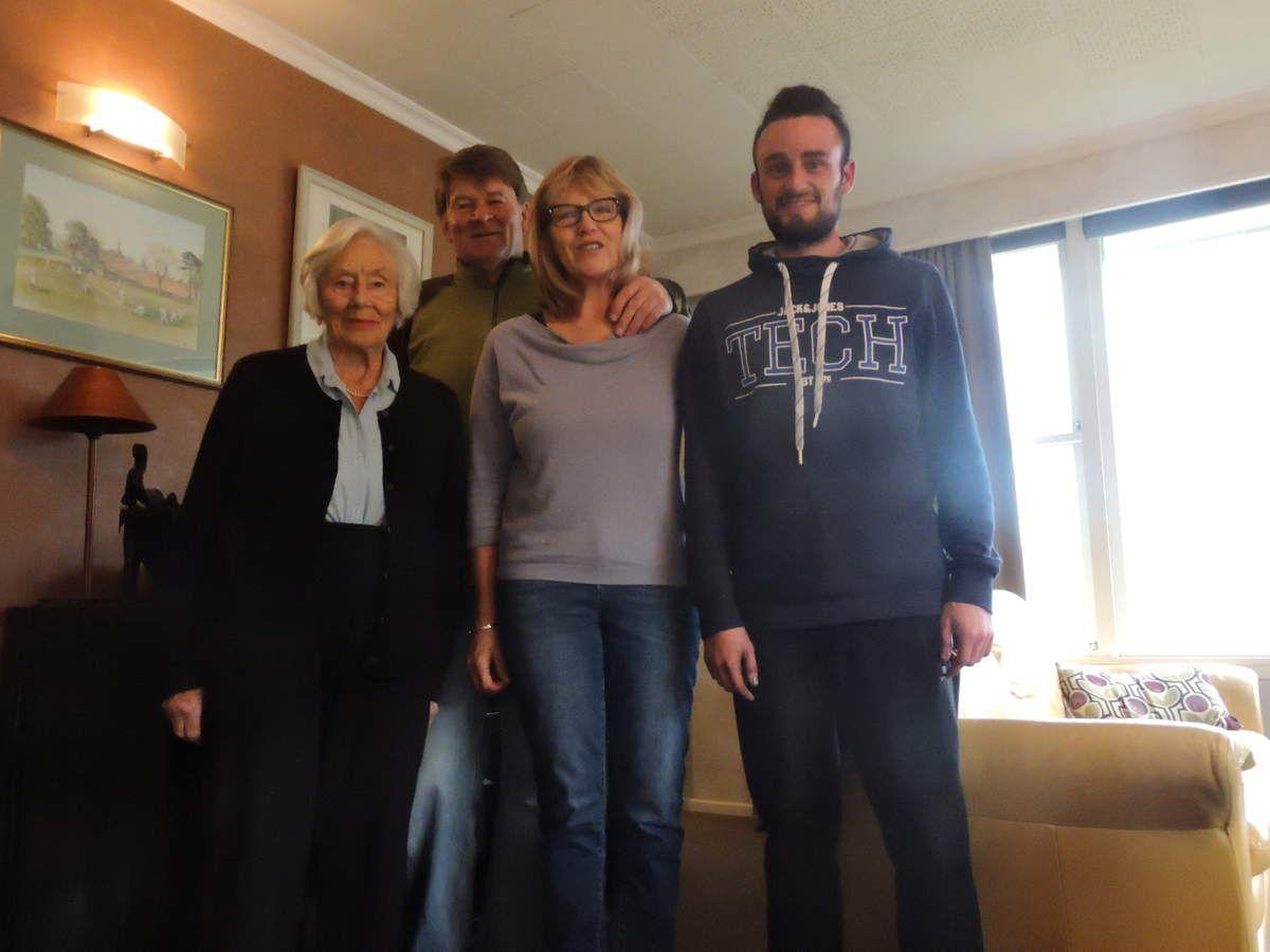 Avec ma famille d'accueil