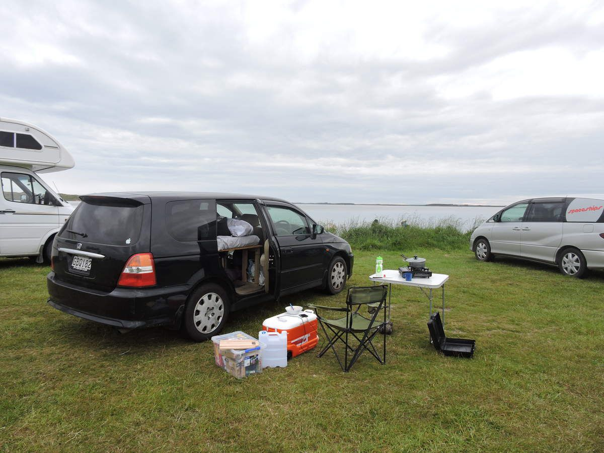Fortrose free camp