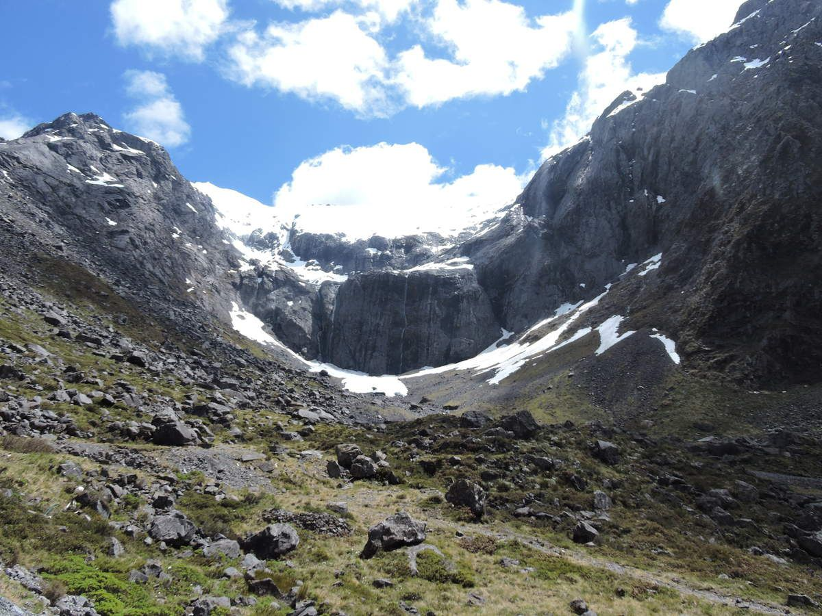 Gertrude Saddle Track