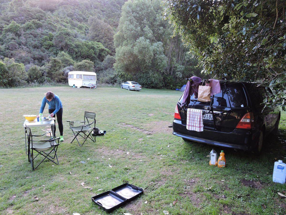Belmont Regional Park campsite