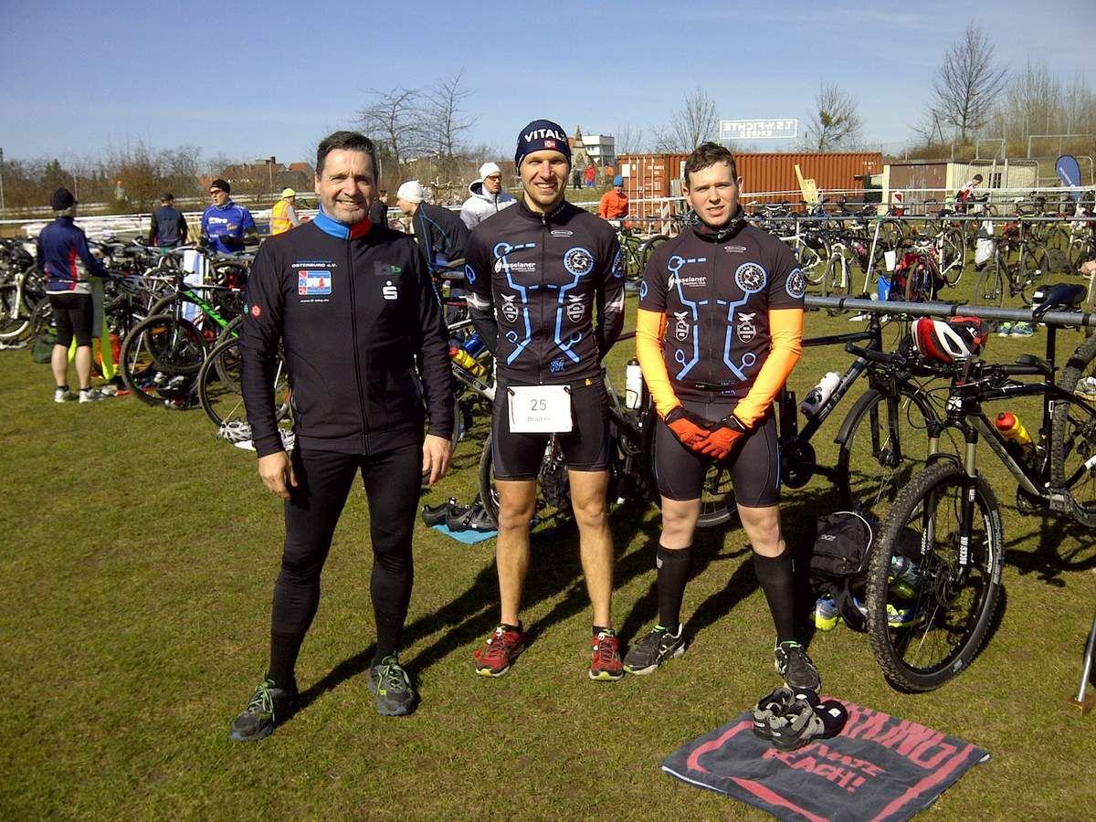 Ergebnisse 3. Lappwaldsee-Crossduathlon Helmstedt (22.03.2015)