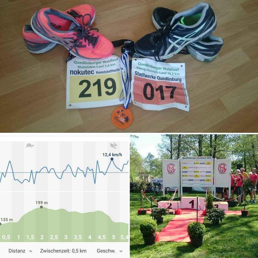 Ergebnisse 37. Quedlinburger Waldlauf (08.05.2016)