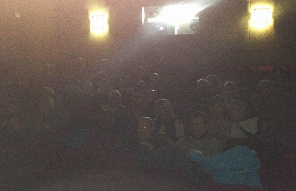 Le public a apprécié d'avoir cet éclairage sur ce sujet qui n'avait jamais été abordé à Cinélaudon.