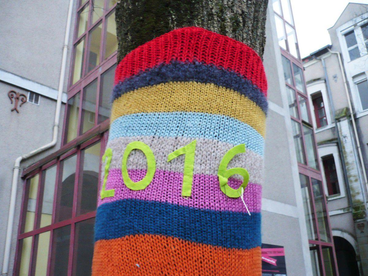 J'ai fini de tricoter mon 3ème arbre !
