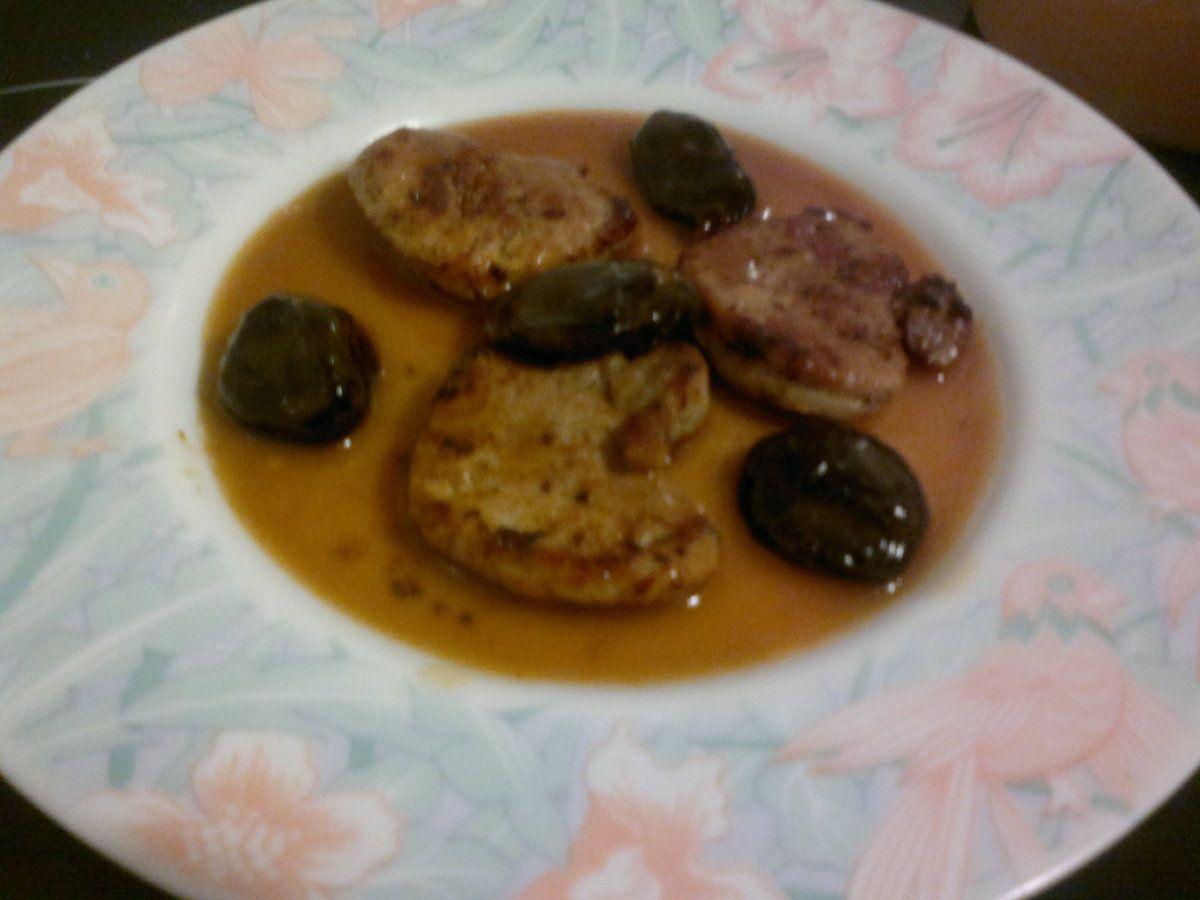 Filet mignon de porc aux pruneaux ***
