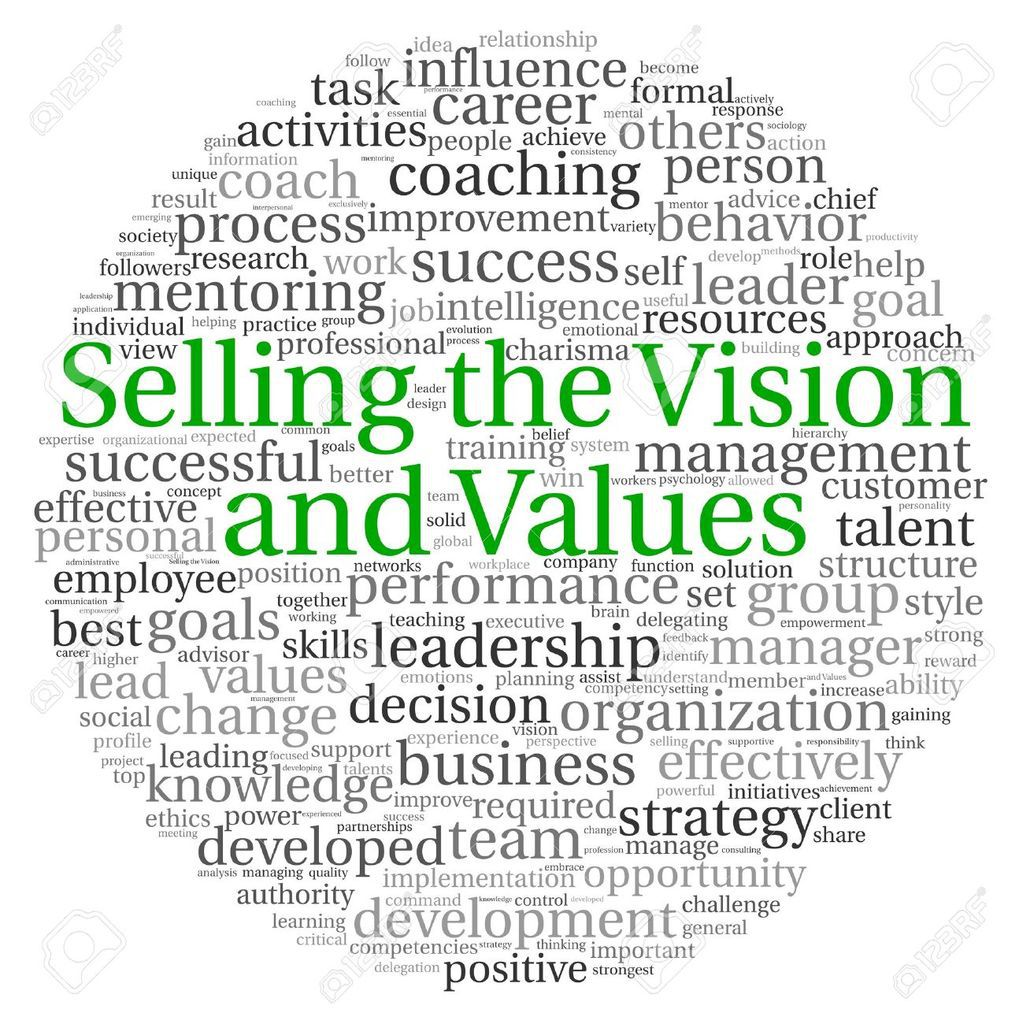 Selling A Vision