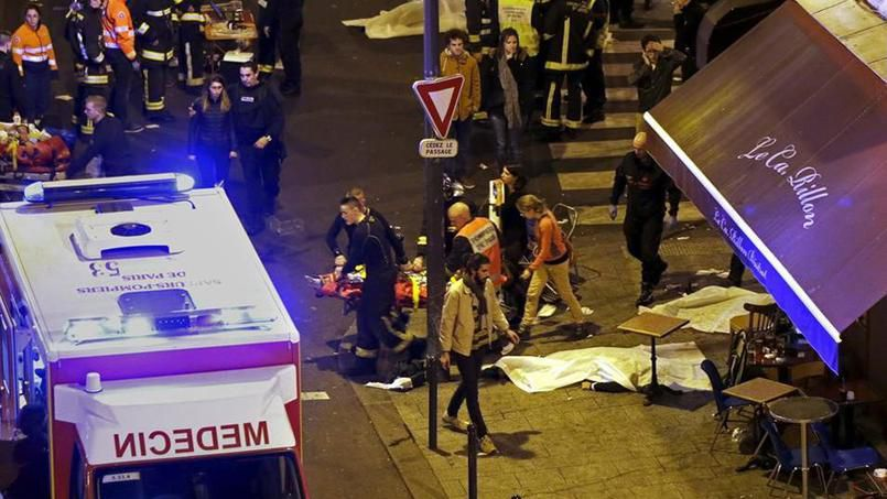 Fusillades à Paris : six sites visés au moins 126 morts