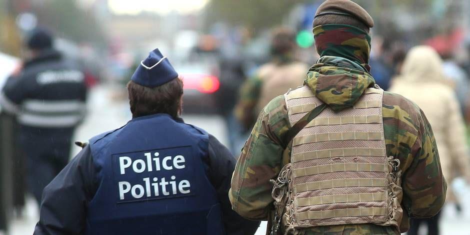 BELGIQUE : Partouze entre militaires et policières au commissariat en pleine alerte terroriste !