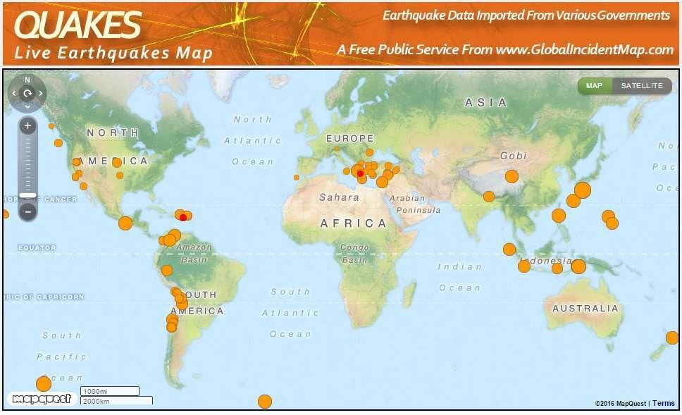 La ceinture de feu - éruption de 5 volcans en 24 heures