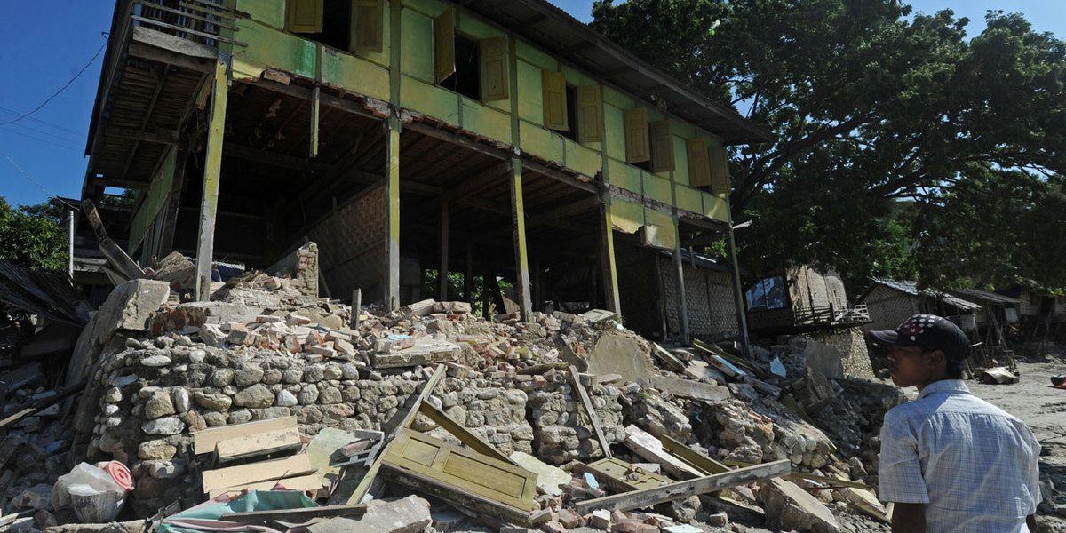 Un séisme de magnitude 7,2 à la frontière entre la Birmanie et l'Inde