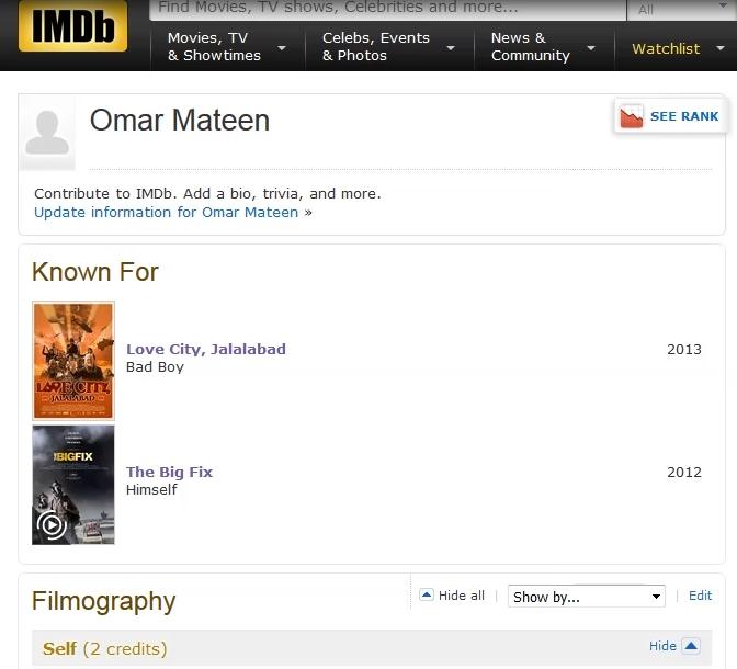 Omar Mateen, le terroriste d'Orlando, était un acteur