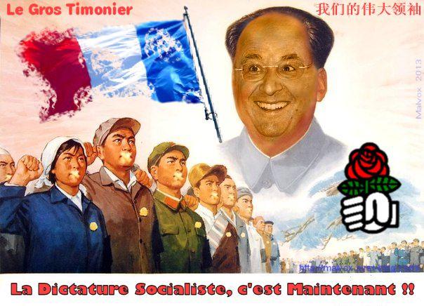 Une seule issue pour le socialisme en faillite : la dictature !