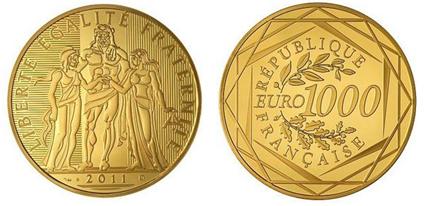 Énorme : les Allemands demandent la mise en place d'un euro-or !