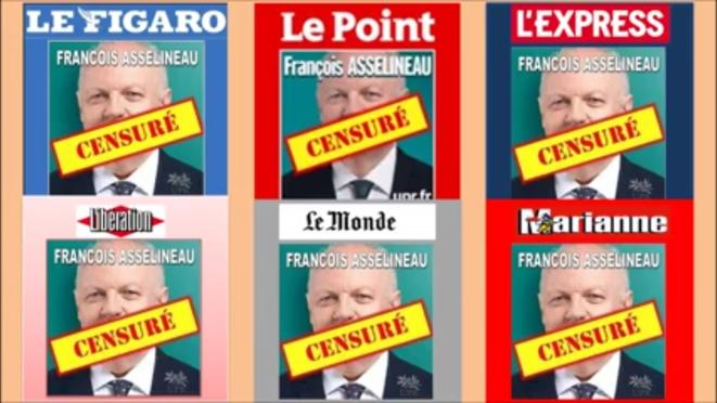 UPR et François Asselineau : Les Preuves accablantes de la Censure du système