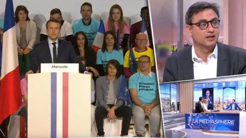 «Il est effrayant !» : LCI lamine le candidat Macron... et supprime le replay de l'émission