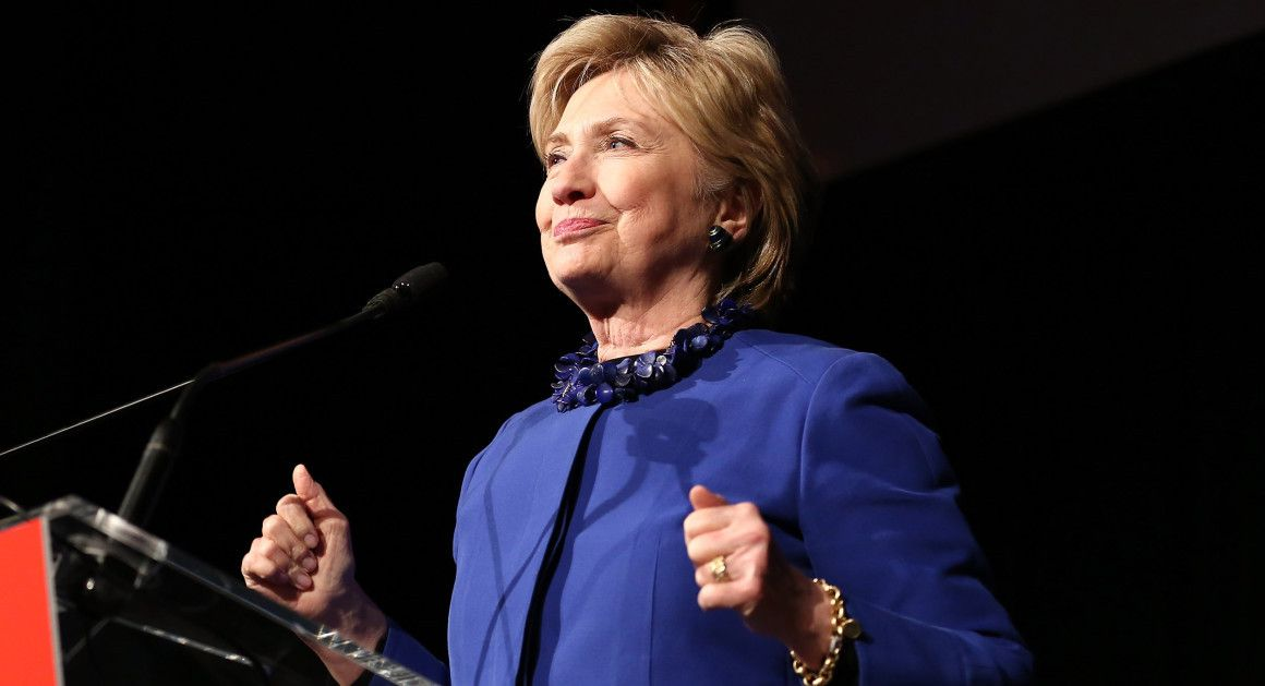 Hillary Clinton sent a blast email to supporters Monday afternoon asking people to sign up for her next venture.   AP Photo