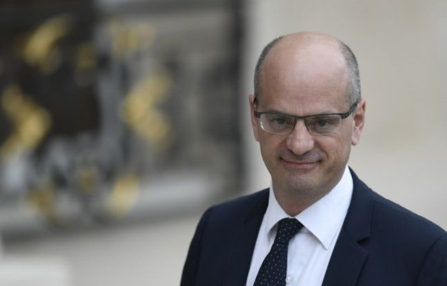 Le ministre de l'Education Jean-Michel Blanquer - STEPHANE DE SAKUTIN / AFP