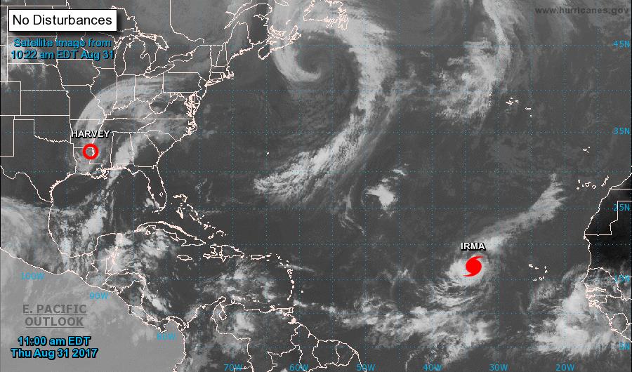 ALERTE- Irma est devenue un ouragan de catégorie 3 dans l'Atlantique oriental