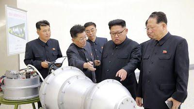 La Corée du Nord vient de tester une bombe H qui a causé un séisme de de magnitude 6,3