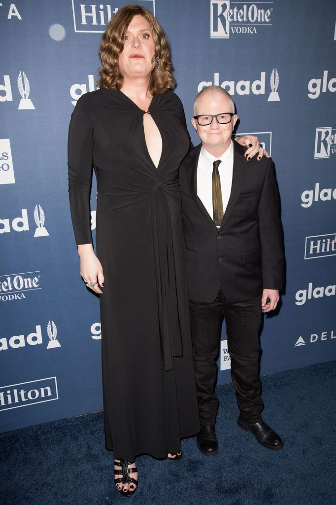 Andy Wachowski maintenant appelée Lilly lors des Glaad Media Awards à Los Angeles le 03 avril 2016