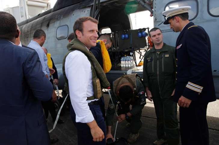 Emmanuel Macron veut &quot&#x3B;désarmer&quot&#x3B; Saint-Martin