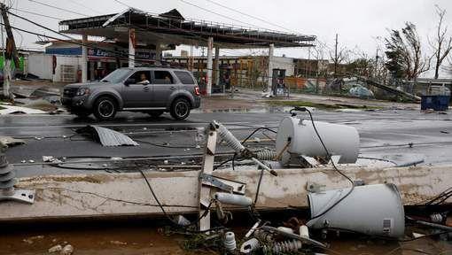"""La maire Carmen Yulin Cruz s'attend à ce que Porto Rico et ses 3,5 millions d'habitants soient privés d'électricité pendant """"quatre à six mois"""". © reuters."""