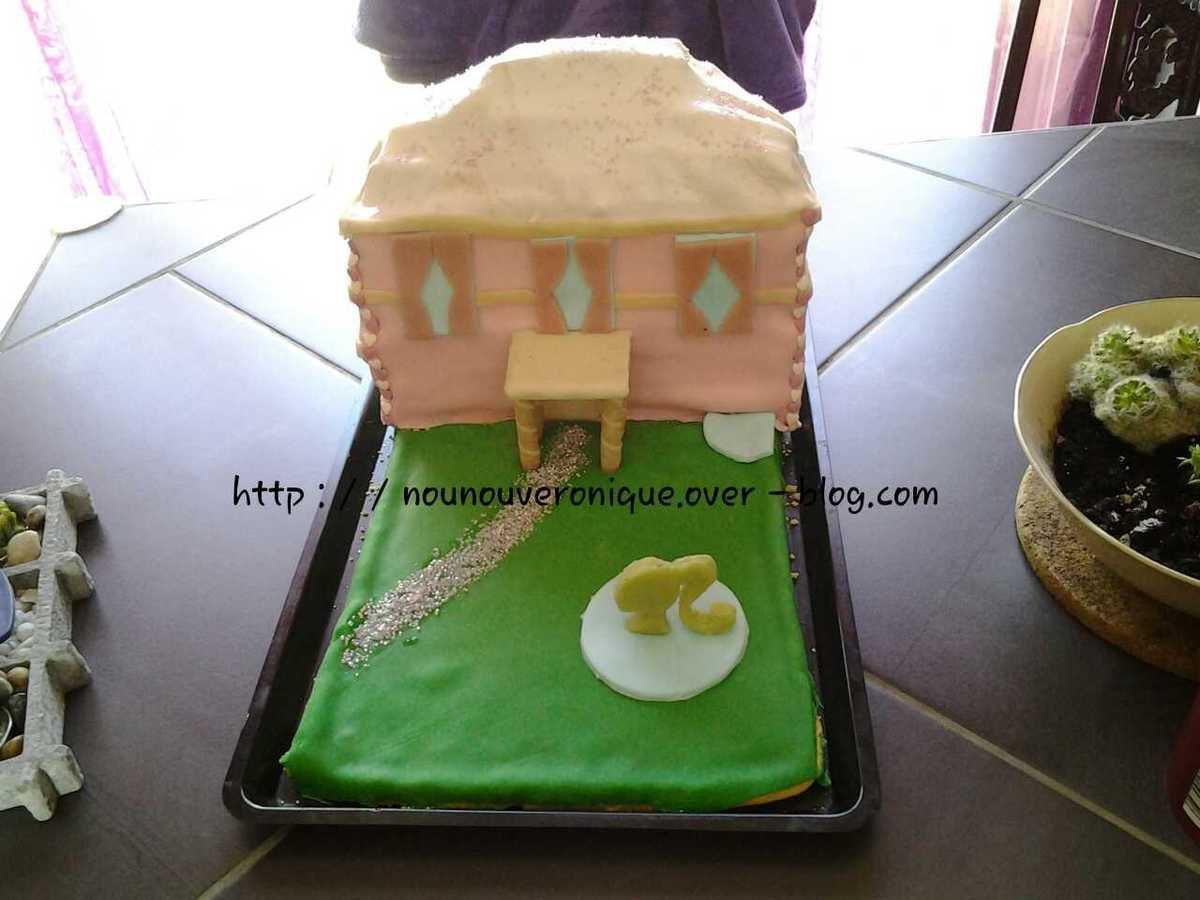 Le gâteau d'anniversaire de ma Freya