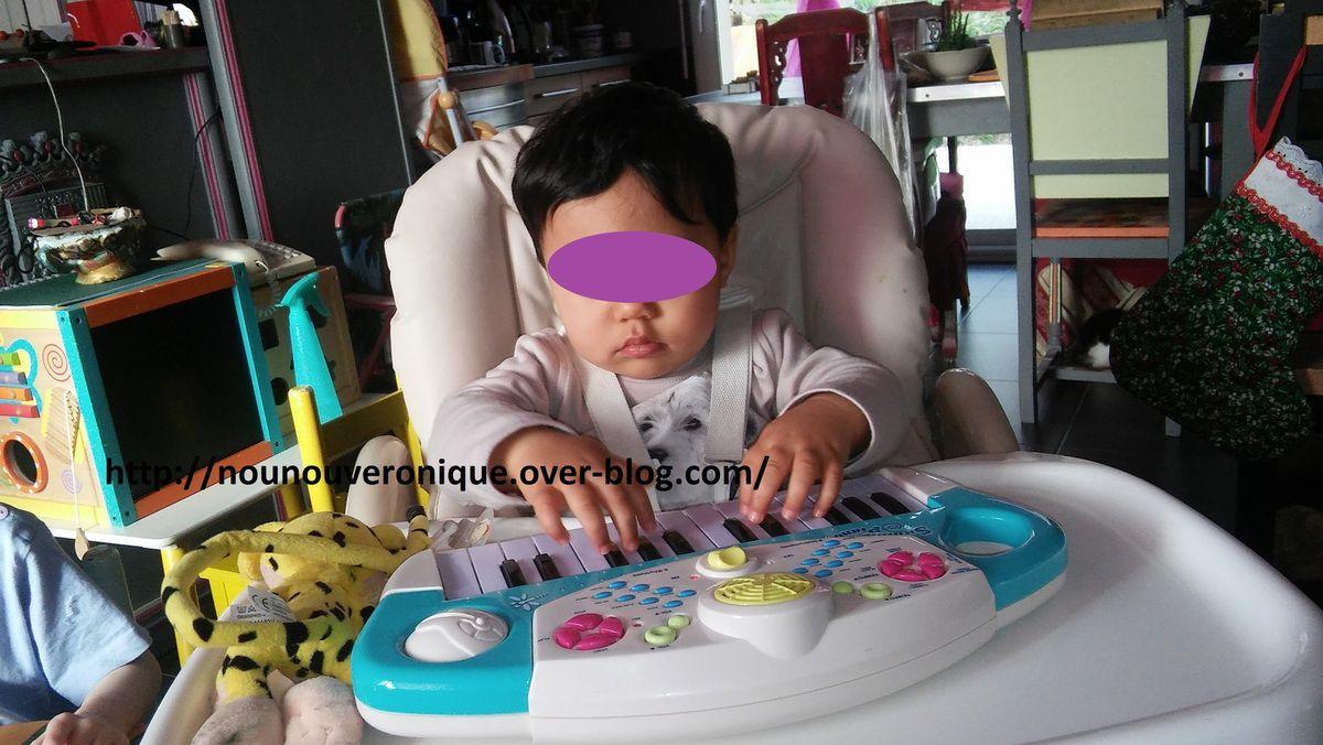 Toma, le petit pianiste....