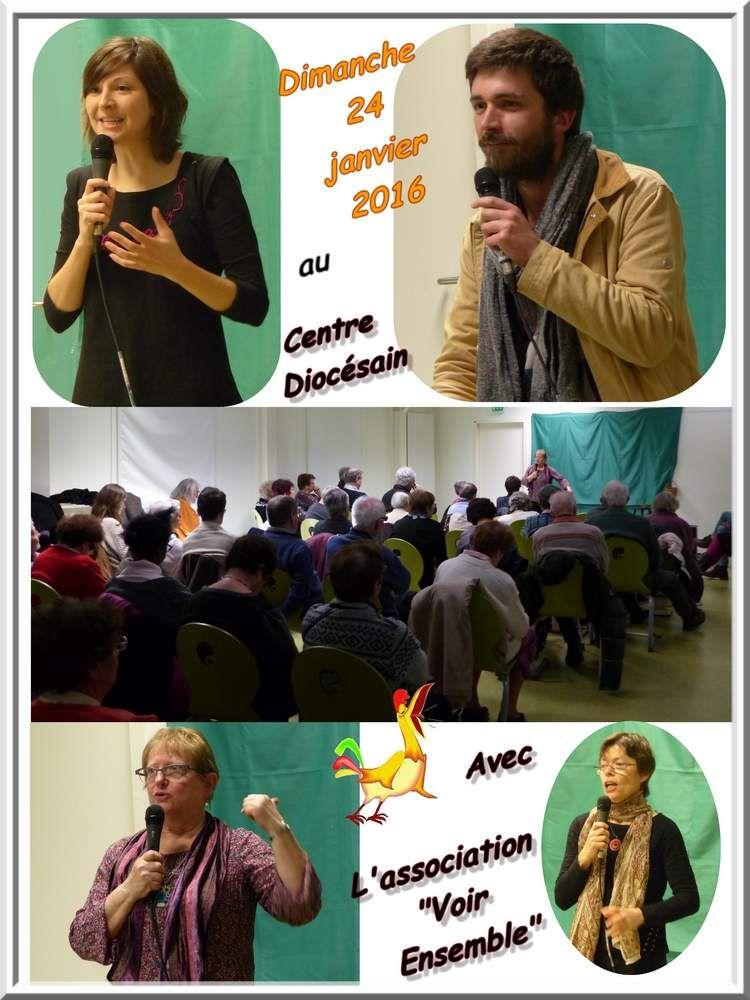 """Dimanche 24 janvier pour l'association """"Voir Ensemble"""""""