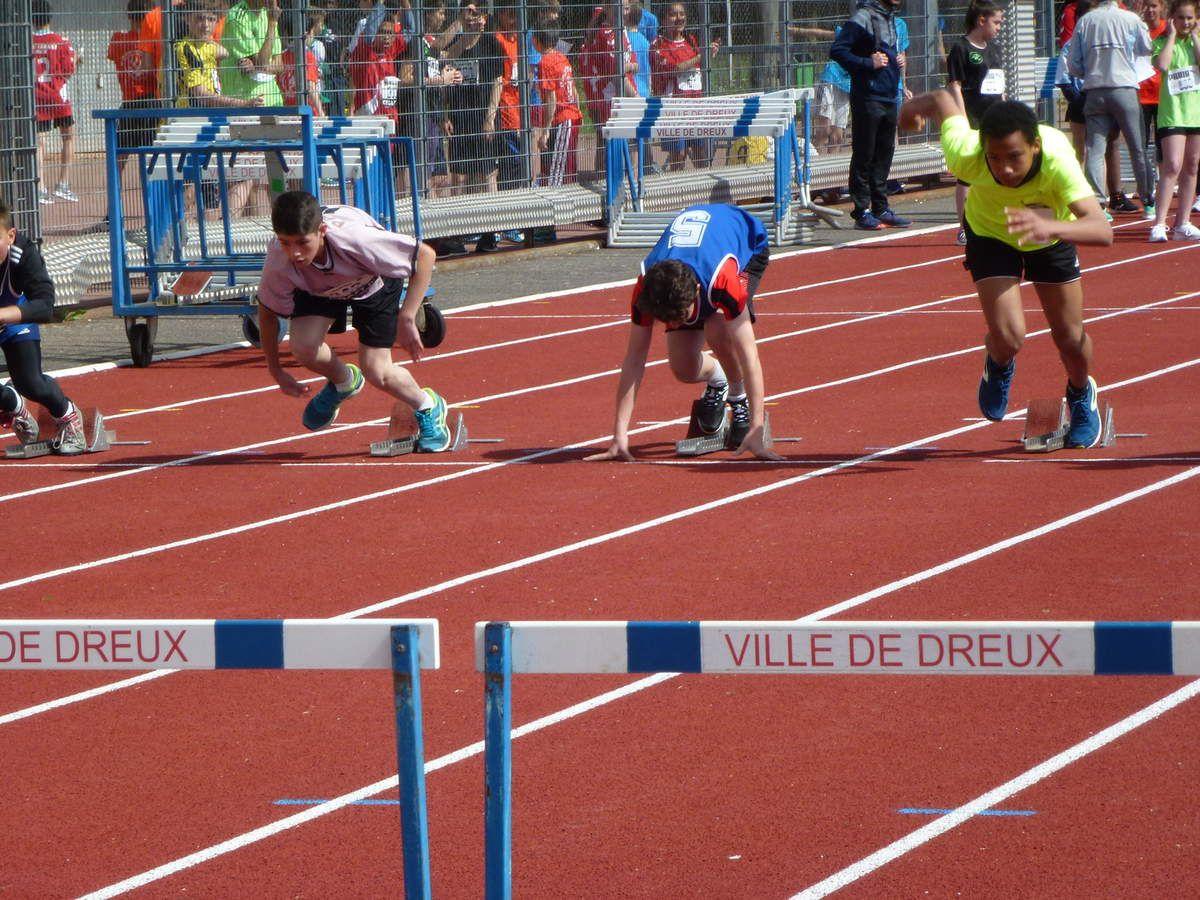 Championnat départemental athlétisme Dreux