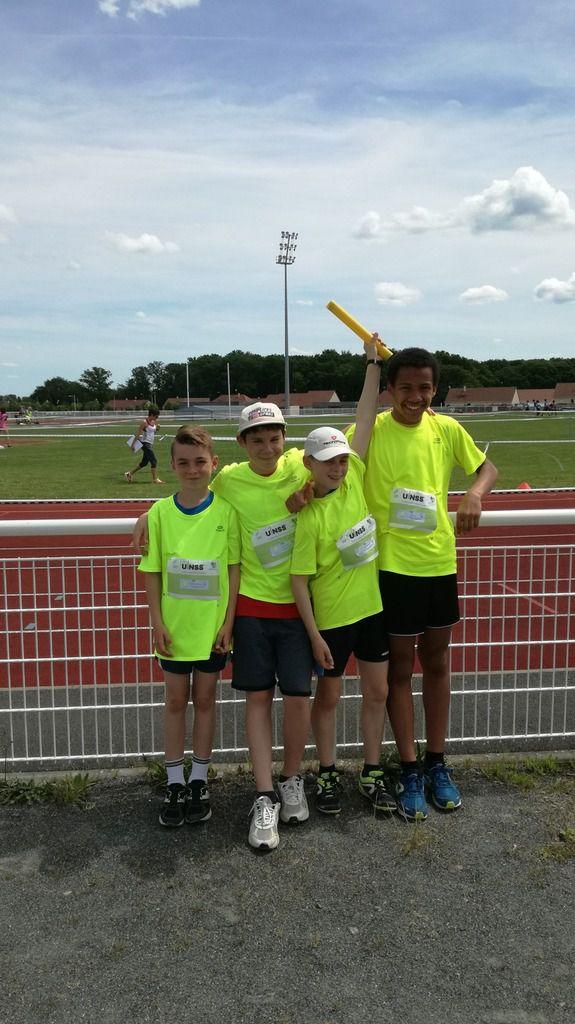 Championnat académique athletisme Châteauroux