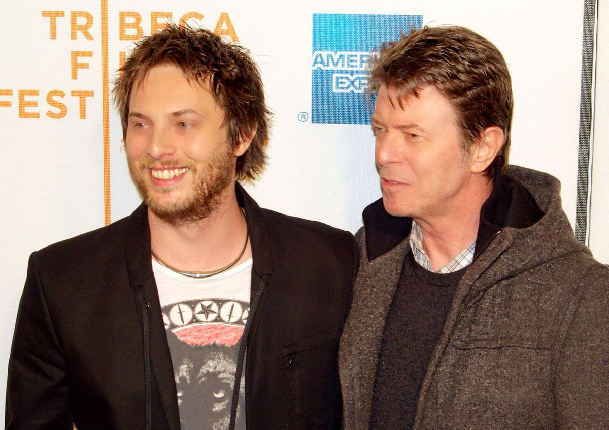 David Bowie et Duncan Jones - Photo de David Shankbone / Af