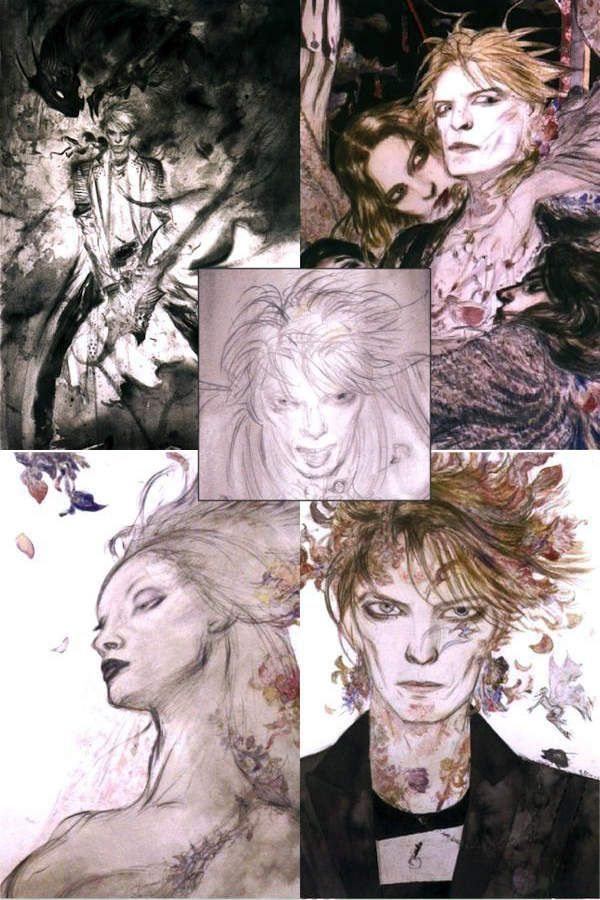 Quelques images de The Return of The Thin White Duke par Amano Yoshitaka