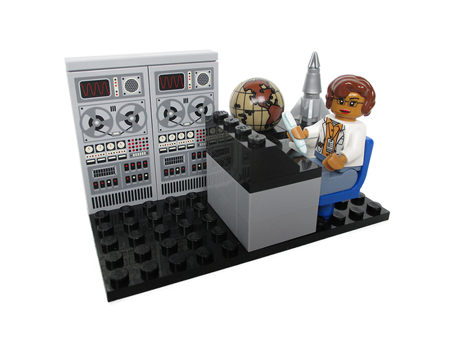 LEGO va honorer cinq grandes figures féminines de la NASA